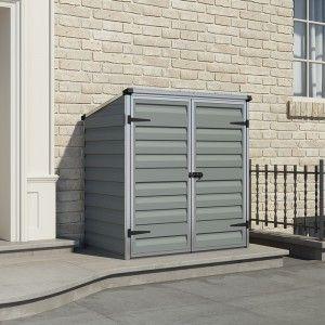 Garden Sheds 3 X 4 palram 4' x 3' skylight pent grey shed | plastic sheds | pinterest