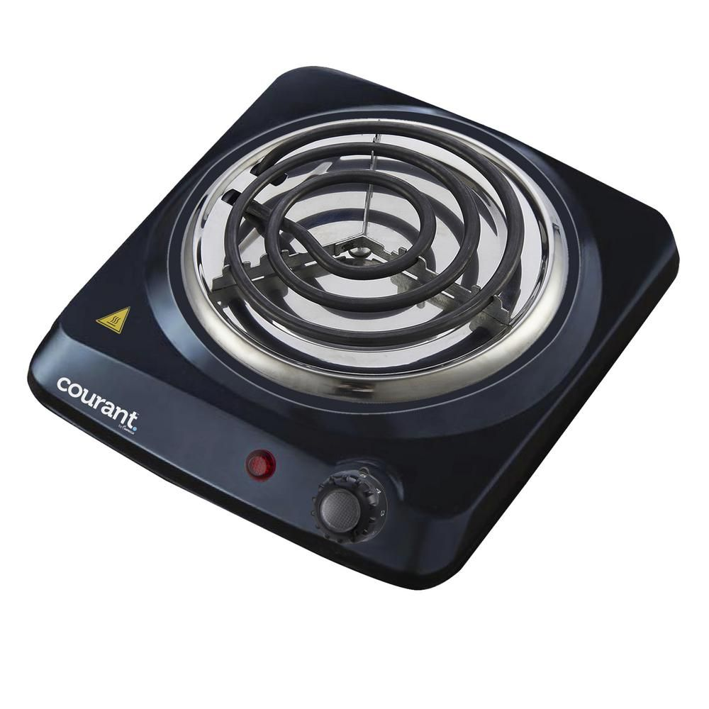 Courant Electric Single Burner Hot Plate Ceb 1100k Single Burner Portable Cooktop Induction Heating
