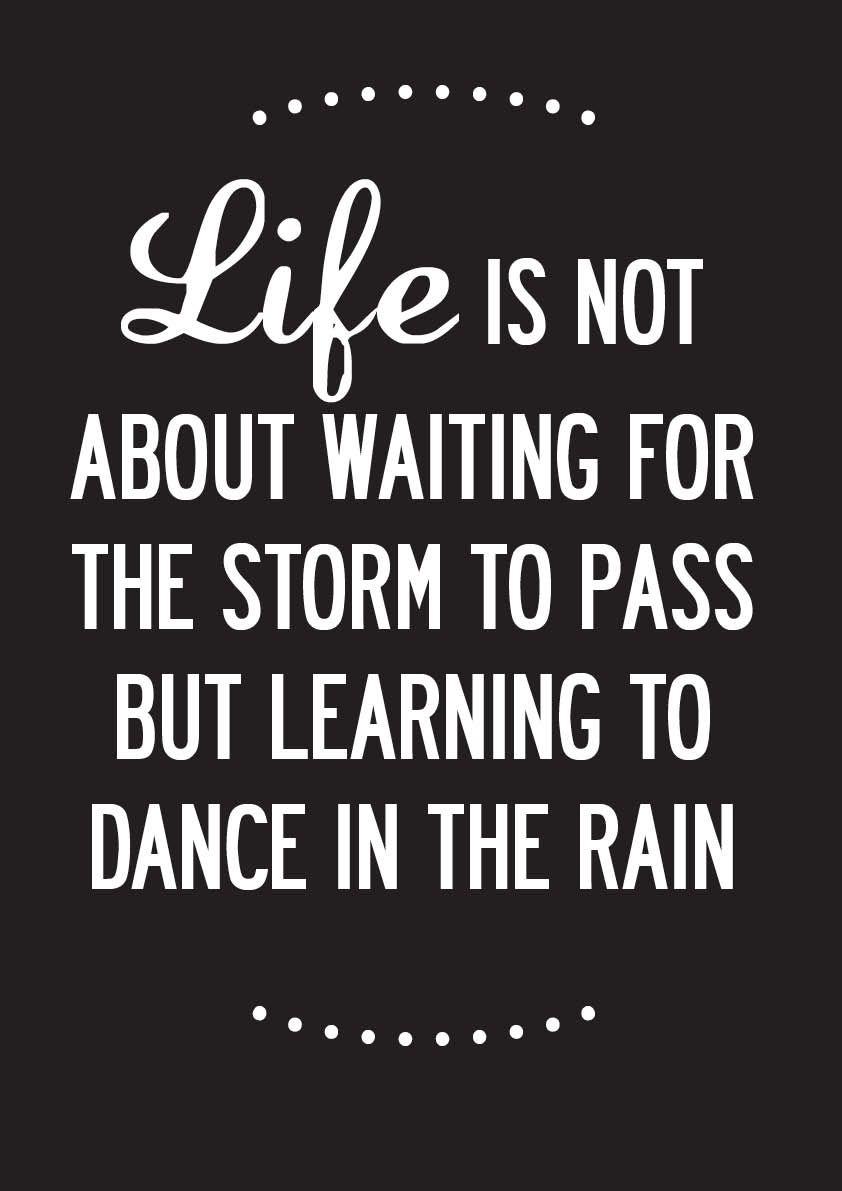 Dance In The Rain Today!