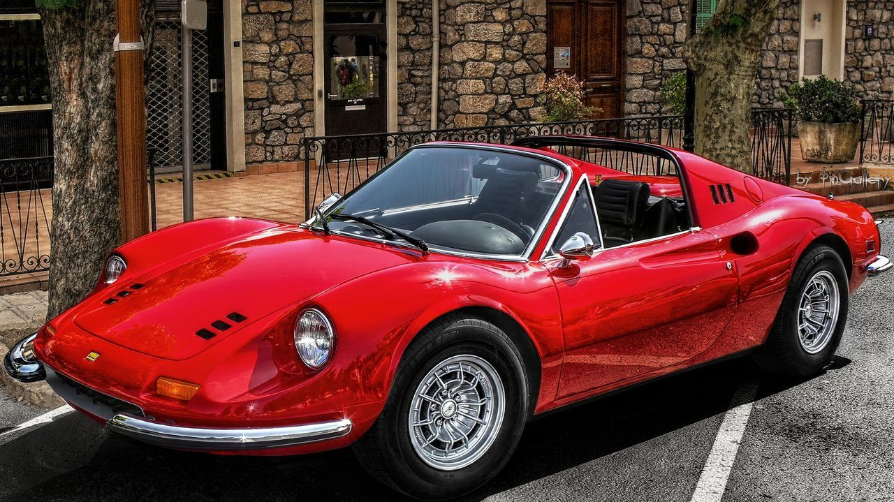 Dino 246 Gts Sports Cars Ferrari Ferrari Porsche 911 Targa