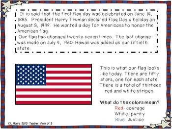 Flag Day Informational Reading Flag History Of Flags