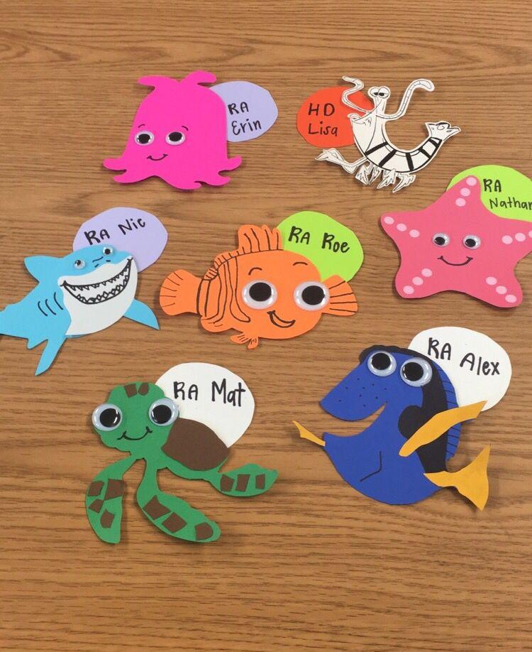 Finding Nemo Door Decs | Door decs | Pinterest | Door decs ...