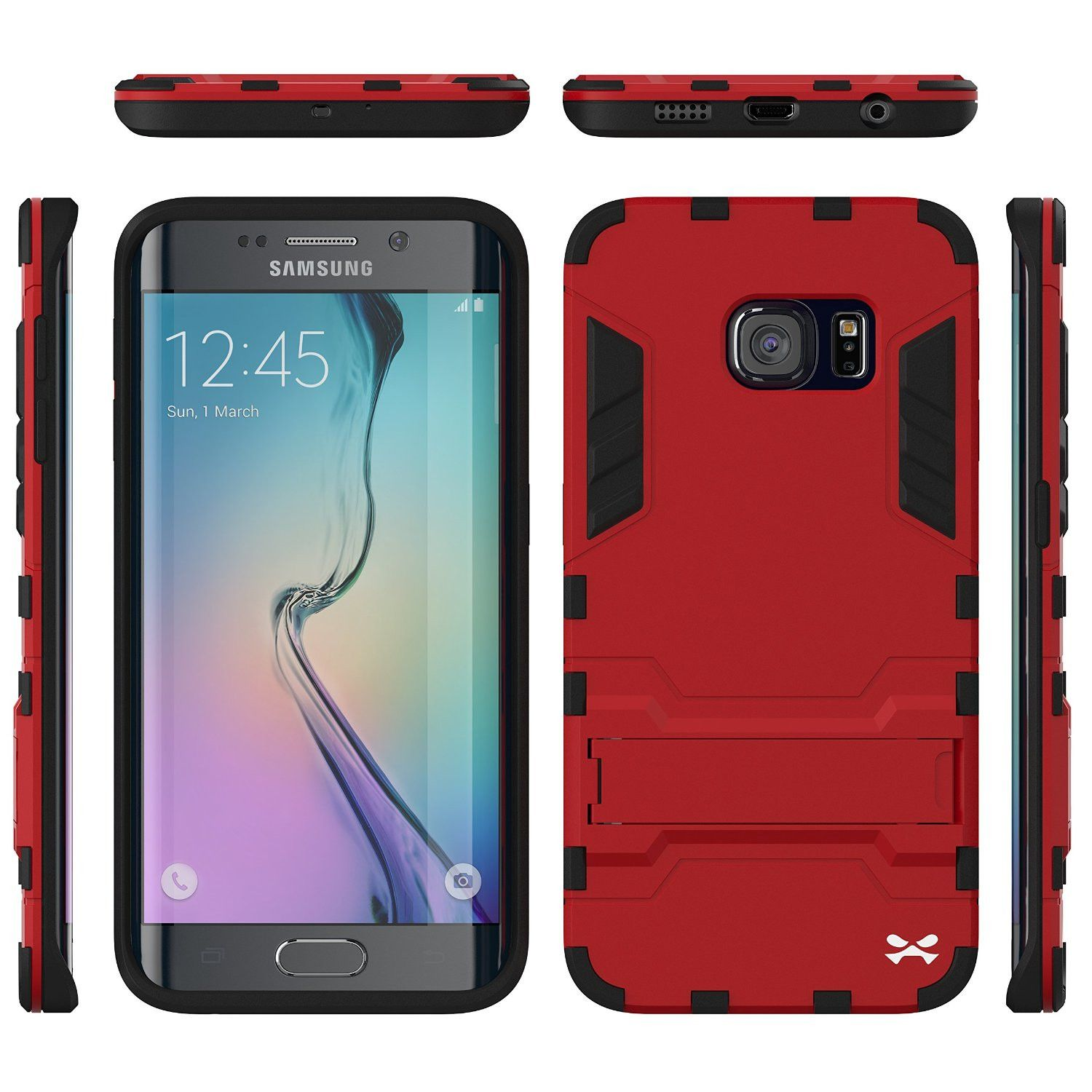 red samsung s6 case