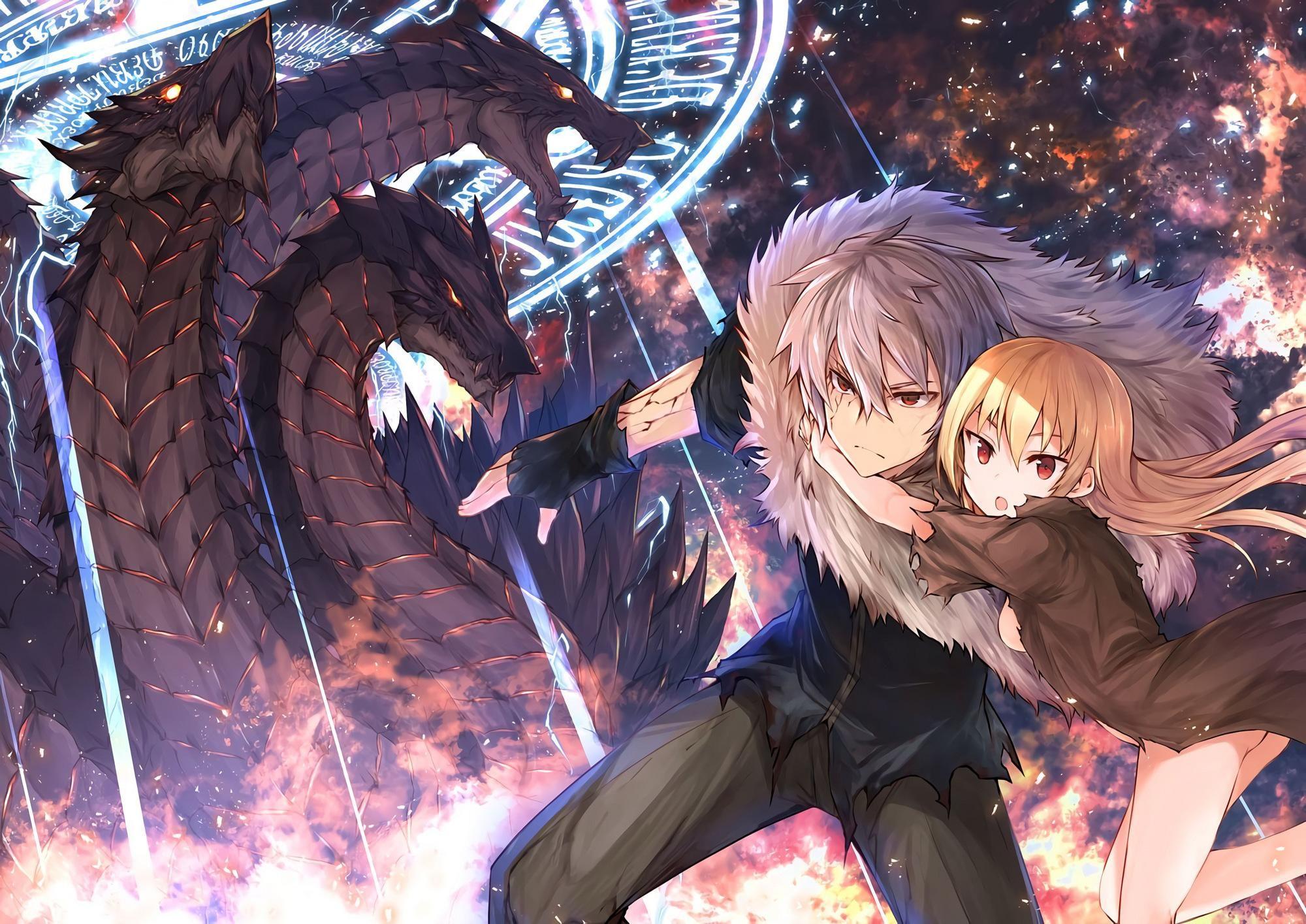Yue ( ユエ ) and Hajime Nagumo ( 南雲 ハジメ ) in 2020 Anime