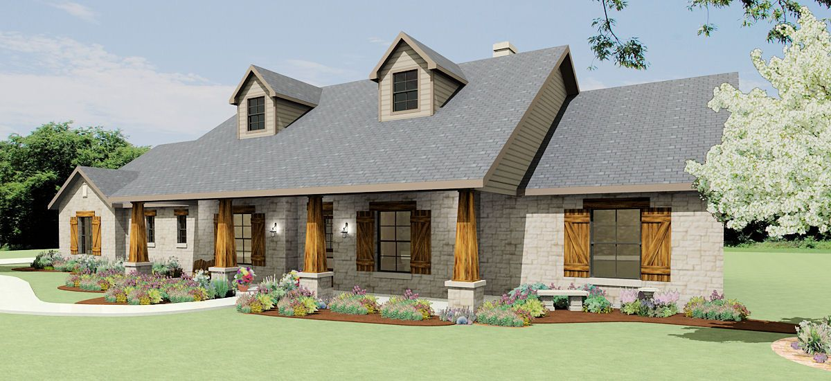 House Plans By Korel Home Designs S2786l House Plans Farmhouse Ranch House Plans Country House Plans