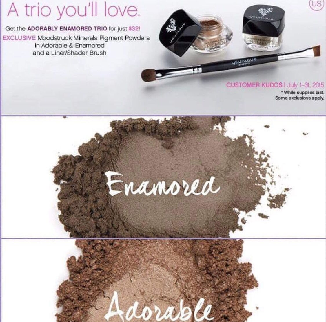 Younique's July Kudos!!