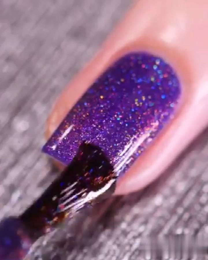 💜I love this purple nail polish! 💅 #fashion #beaut