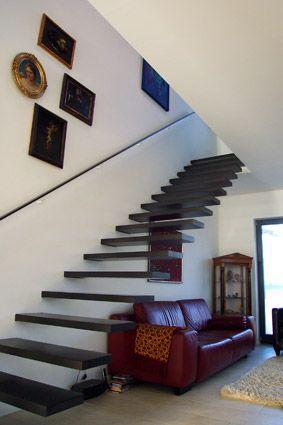 Kragarmtreppe, Holztreppe - hergestellt und eingebaut von Kolbe - exklusives treppen design
