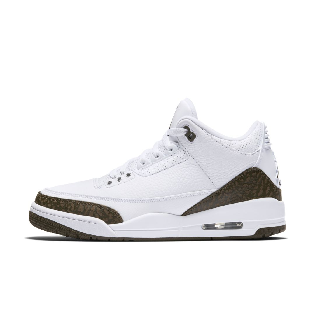 info for 40521 8eab9 Air Jordan 3 Retro Men s Shoe Size 10.5 (White)