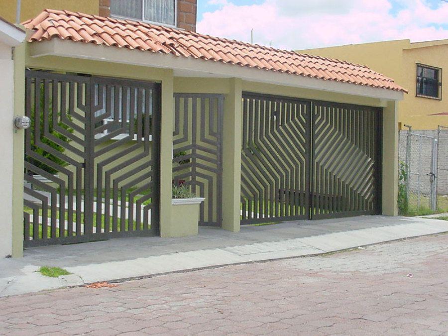 Porton para garage dise o ideas para el hogar for Disenos para el hogar