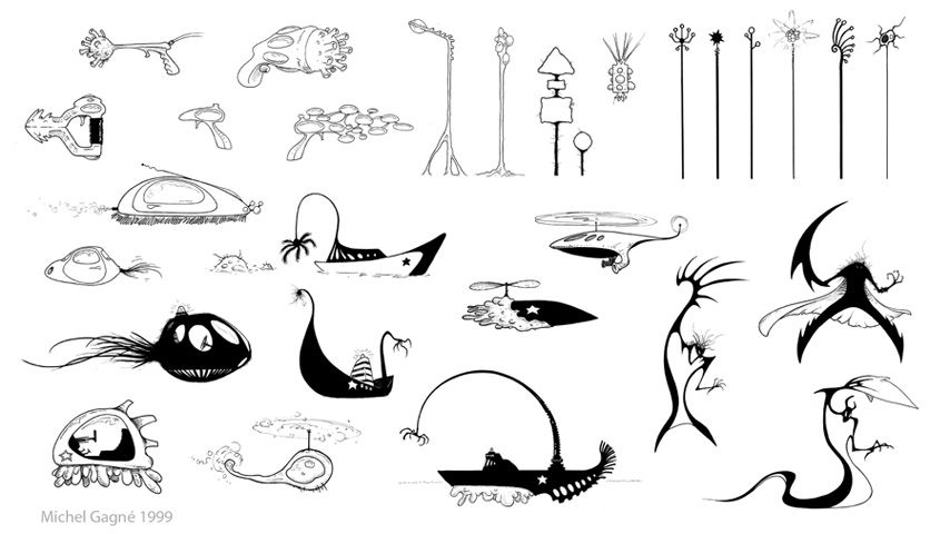 Michel Gagné - Animation Shadow Puppets \ Silhouettes - production artist resume