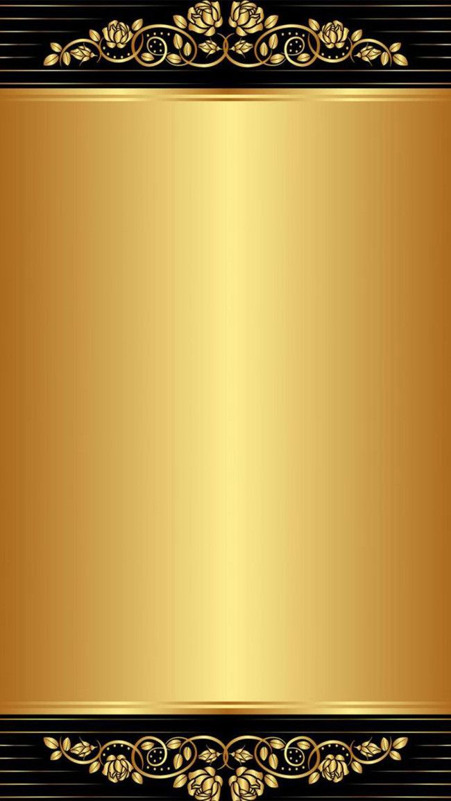 H5 Black Gold Pattern Background