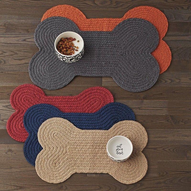 Dog Bone Feeding Mat Tapete De Croche