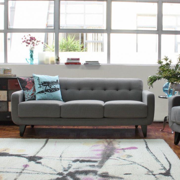 Cornermill Intra 3-Seater Sofa, Grey | Zanui.com.au  #Grey #White #Modern #Couch