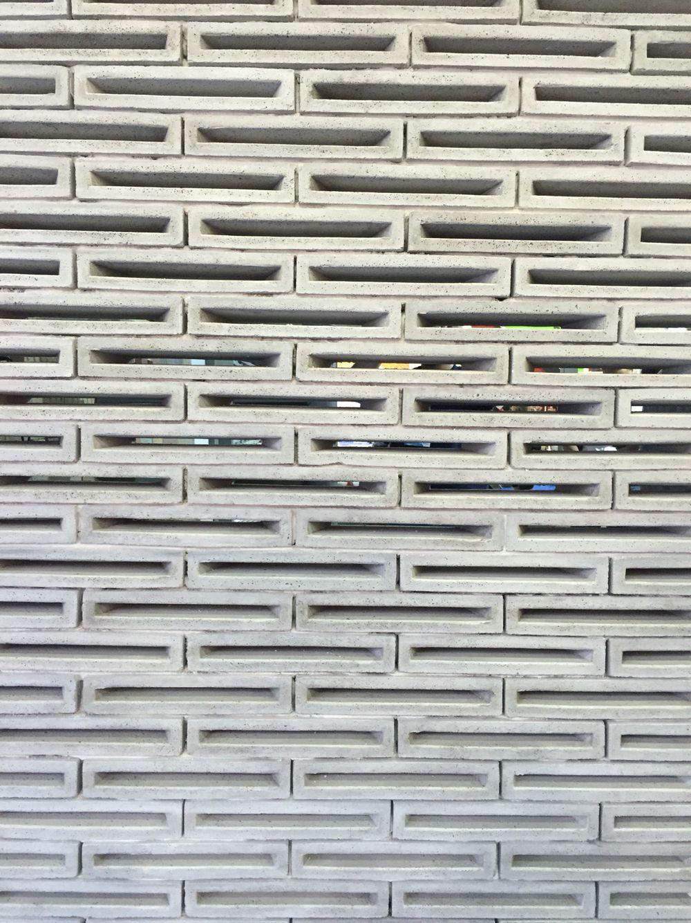 Concrete Brick Lattice Design Mexico Concrete Block Walls Concrete Blocks Concrete Bricks