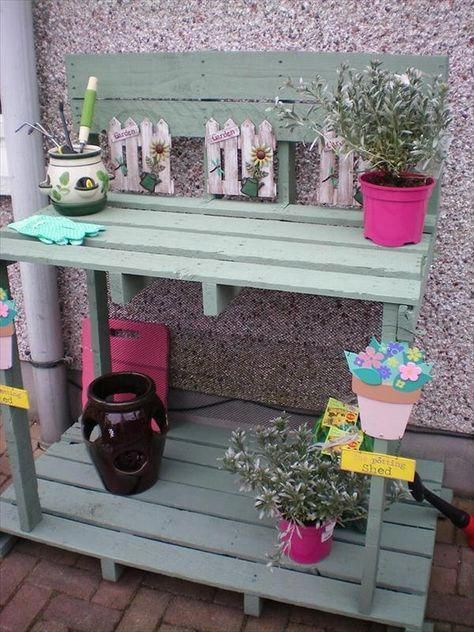 Pallet Furniture | Pallet Table Plans | Diy Pallet Projects Outdoor 20190828 #recyceltepaletten