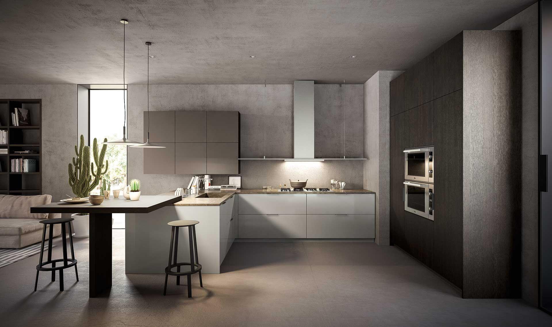 La Nuova Tendenza Dell Interior Design La Cucina Che Si Affaccia Sul Living Open Space Scopri Log Arredo Interni Cucina Interior Design Interni Della Cucina