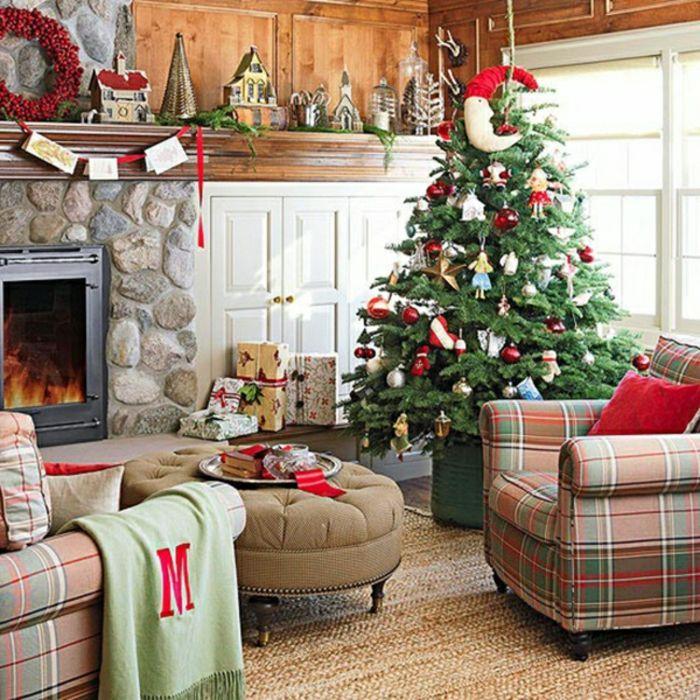 weihnachtsbaum basteln kreative bastelideen f r. Black Bedroom Furniture Sets. Home Design Ideas