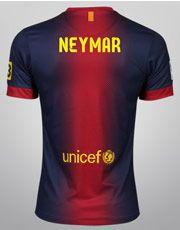 872036a3a4f6c Pré-venda - Camisa Nike Barcelona Home s nº - Neymar. Camisa de Pré-venda  no site lojagloboesporte em