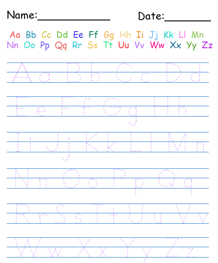 Tracing Handwriting Worksheets | EduCARE | Pinterest | Handwriting ...