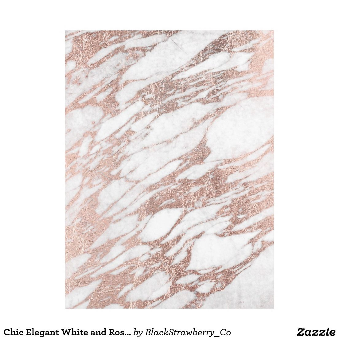 Buy marble rose gold silver and floral geo triangles rectangular - Chic Elegant White And Rose Gold Marble Pattern Fleece Blanket