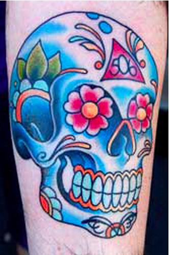 skull profilo