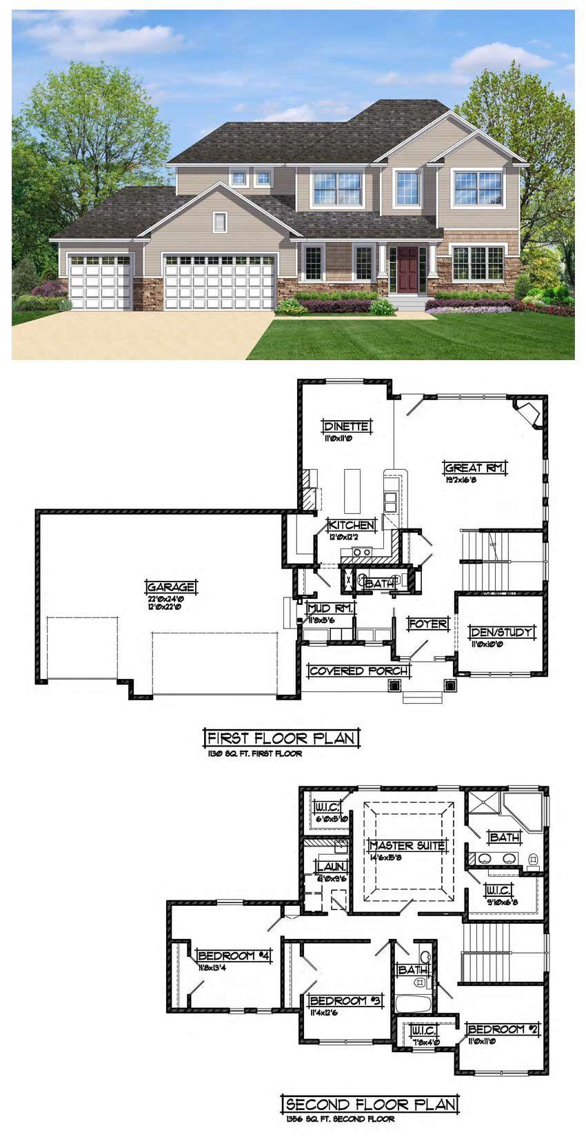 The Glendive- Sherco Construction MN Custom Home Builders | Homes ...