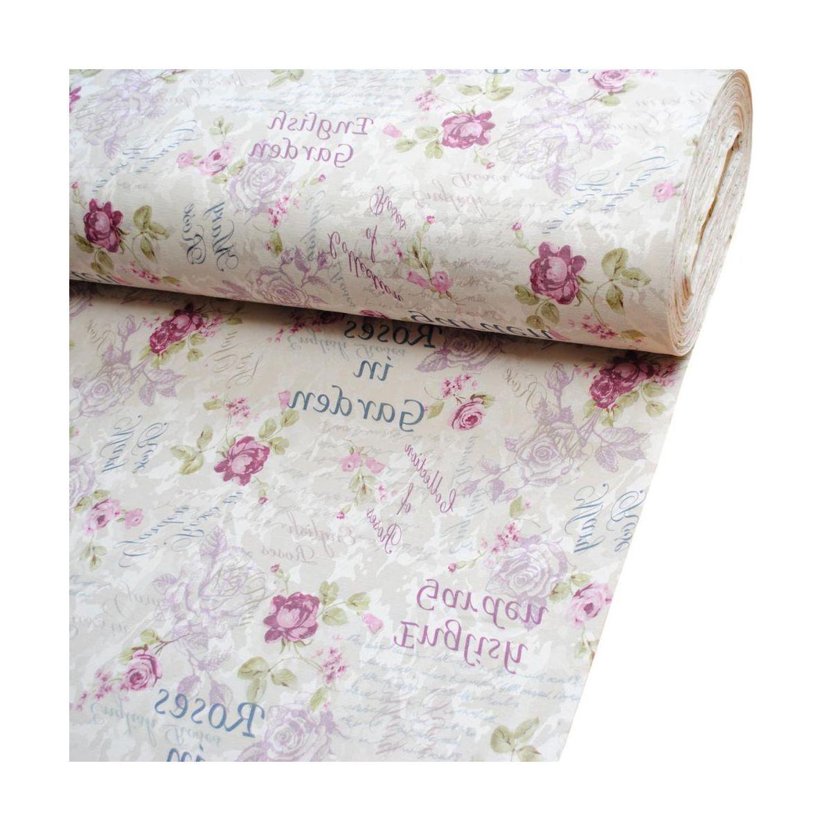 Tkanina Na Mb Zakard Garden Szer 145 Cm Tkaniny Na Metry W Atrakcyjnej Cenie W Sklepach Leroy Merlin Alexander Mcqueen Scarf Floral Tie Floral