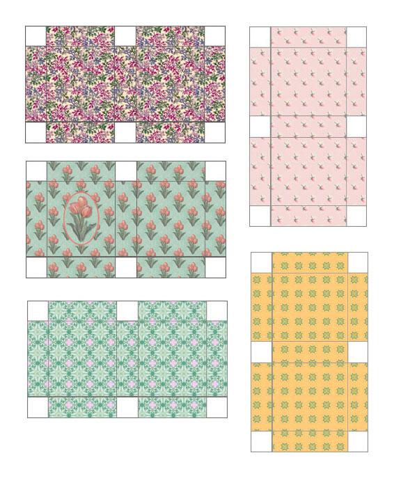 Free Dollhouse Printable Miniature Gift Boxes Printables 4