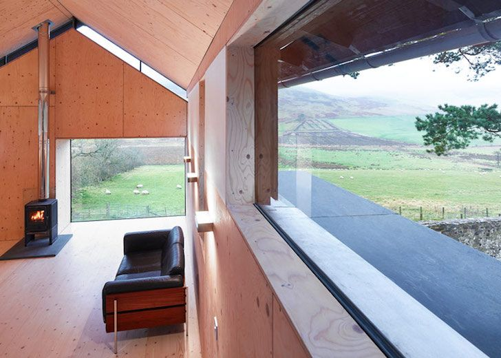 Modern Scottish retreat is disguised as an old stone mill