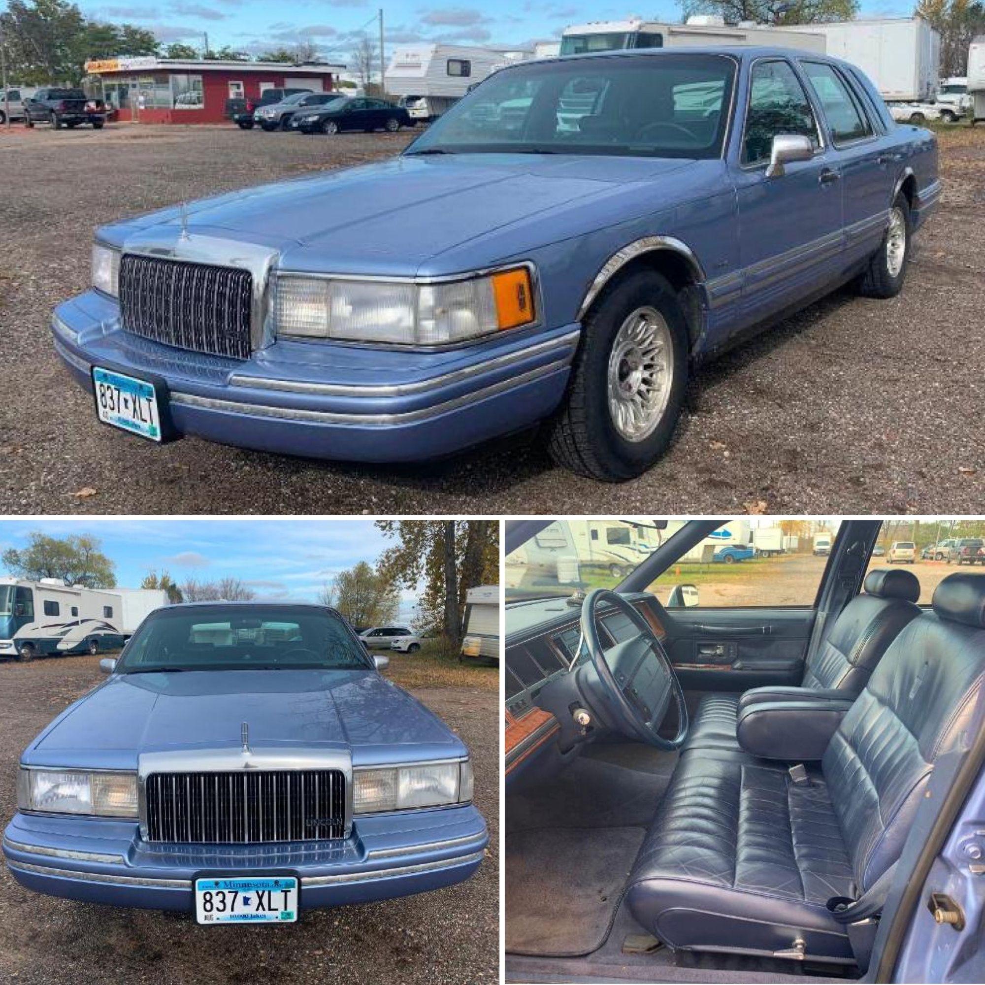 1994 Lincoln Town Car 156 156 Miles Buffalo Mn Browse Bid Online Today Https Www Bid 2 Bu In 2020 Lincoln Town Car Automotive Repair Shop Automotive Repair