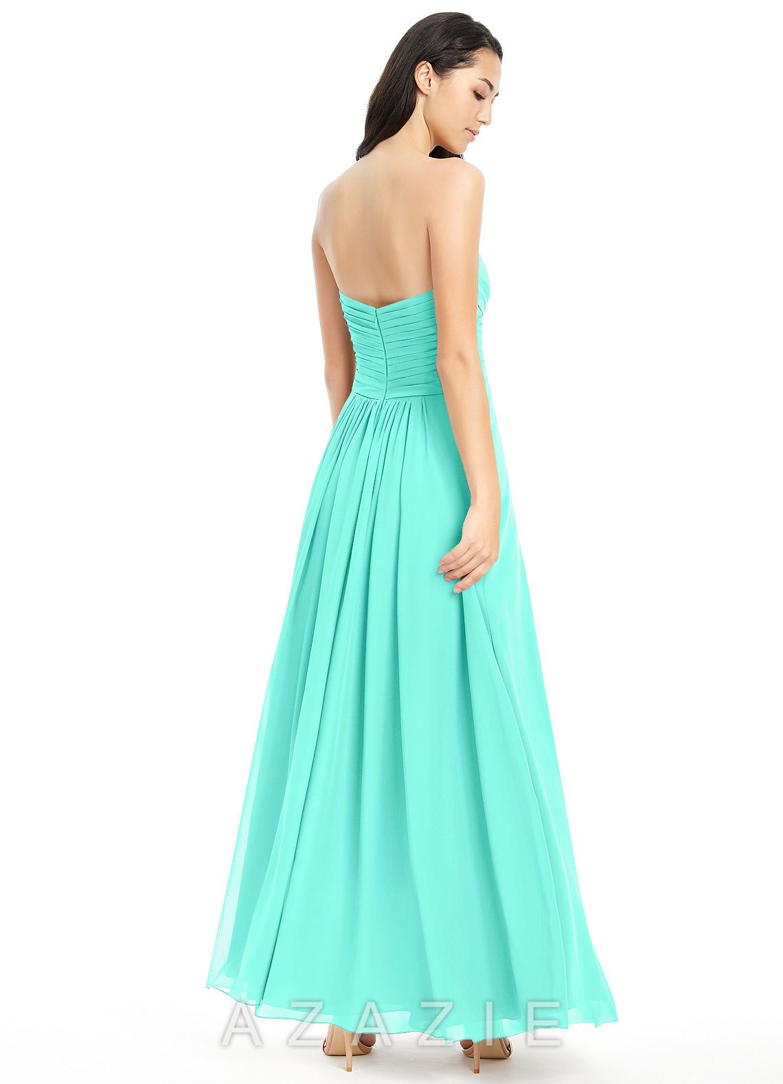 c0c22d3726 Shop Azazie Bridesmaid Dress - Yazmin in Chiffon. Find the perfect  made-to-order bridesmaid dresses for your bridal party in your favorite  color