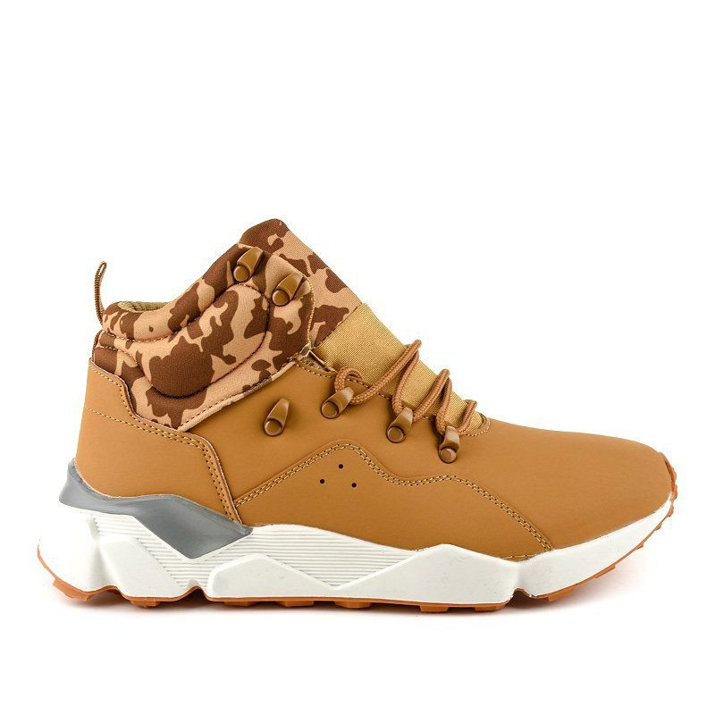 Brown Insulated F33 3 Sports Shoes Sports Footwear Shoes Sports Shoes