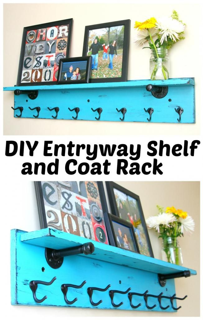 DIY Entryway Shelf And Coat Rack DIY Wood Furniture Projects Awesome Entryway Shelf And Coat Rack