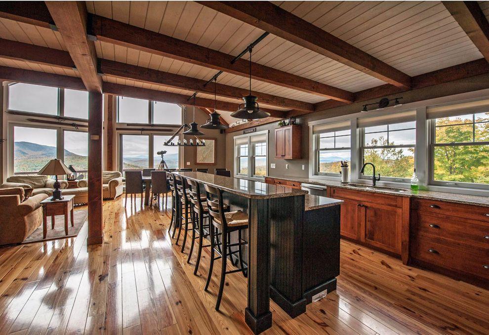 Moose Ridge Lodge Yankee barn homes, Barn house design