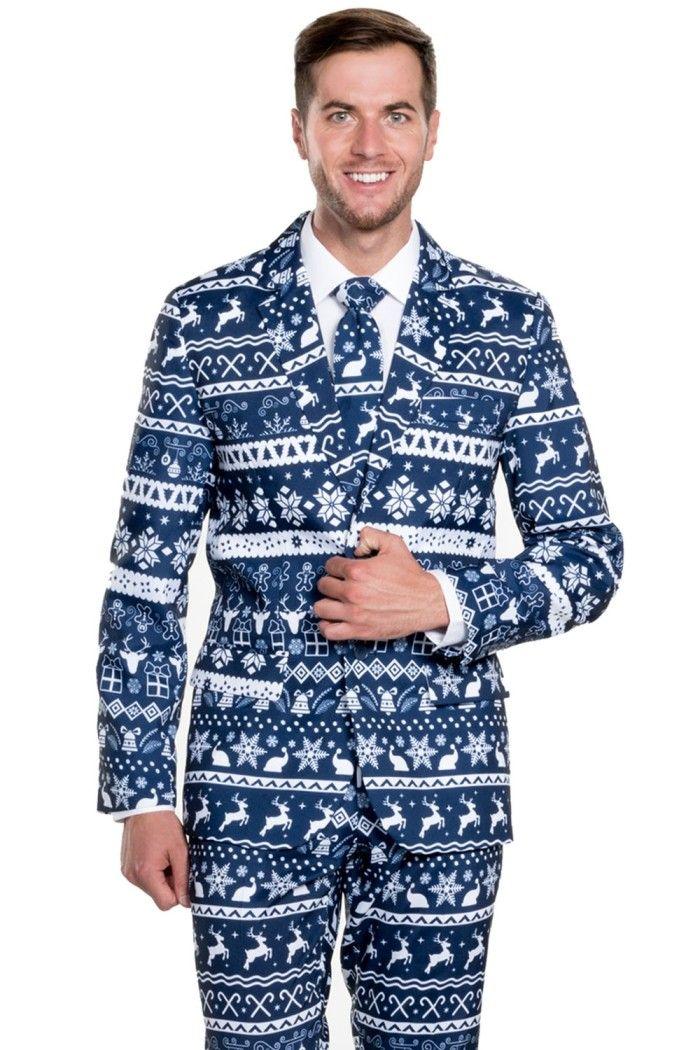 9f19df11880 Men s Fair Isle Christmas Suit