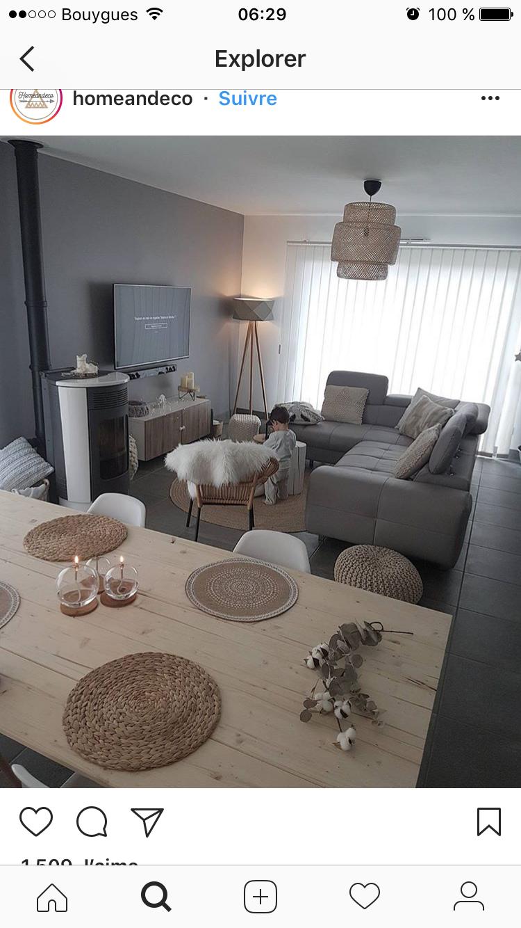 Amenagement Salon En Long posa platis | sala comedor pequeño en 2019 | decor salon