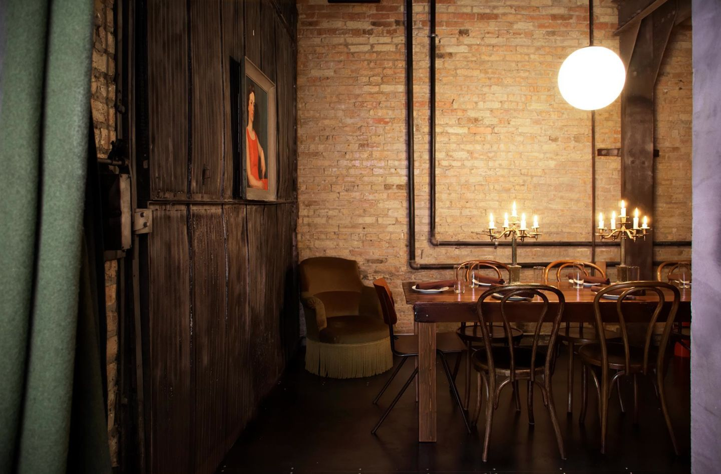 Chicago Restaurants With Private Dining Rooms Beauteous Ada Street New American  Mediterranean Shared Plates Inspiration