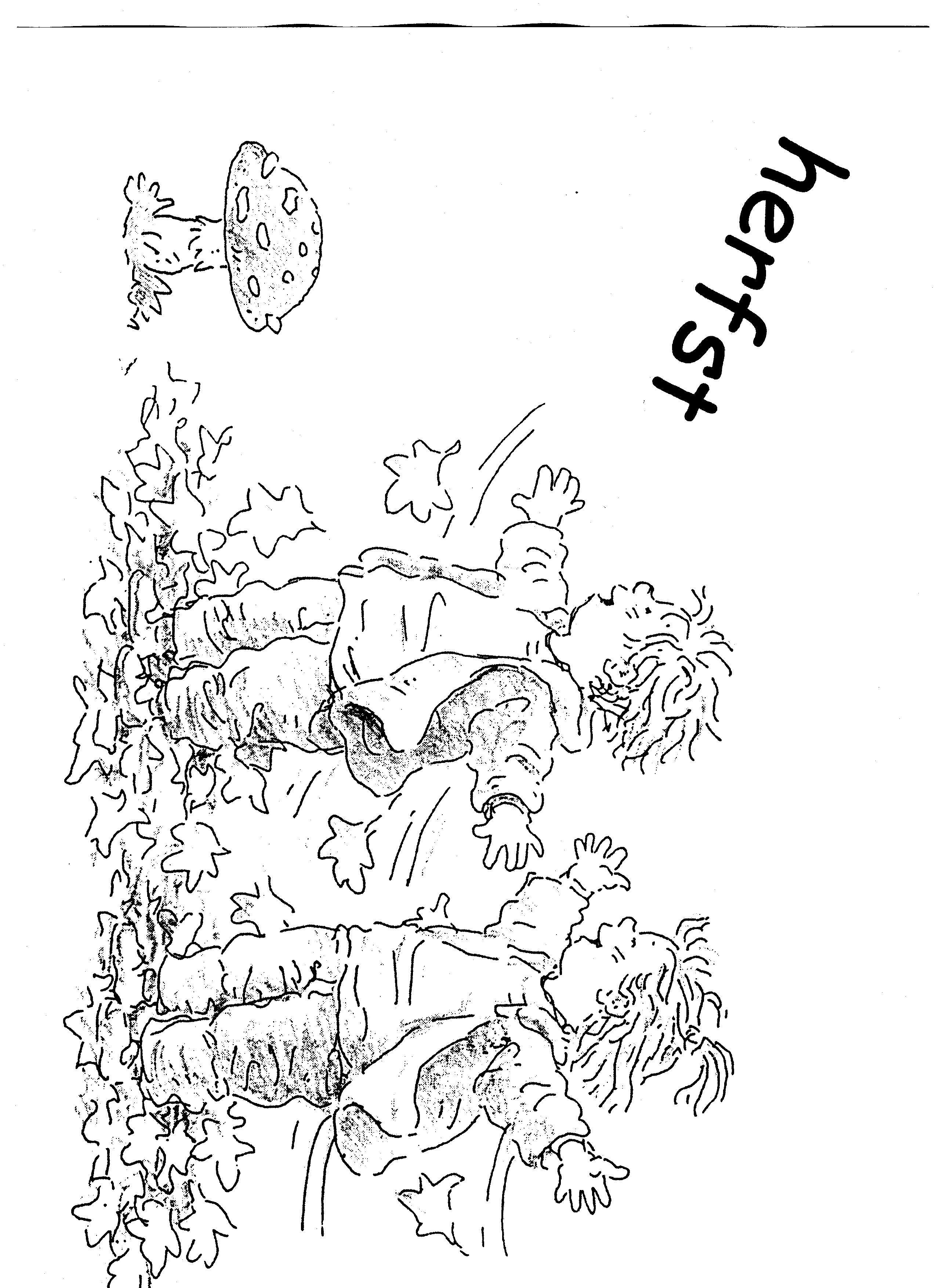 Herfst Jpg 2550 3510 Seizoenen Dieren Kleurplaten