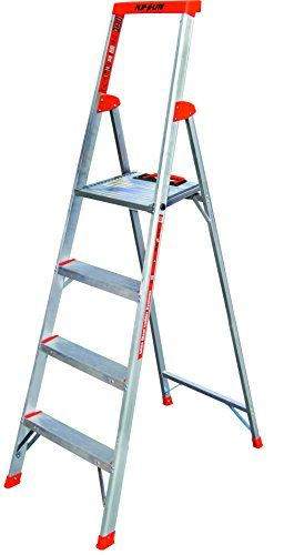 Flip N Lite 300 Pound Duty Rating 6 Foot Stepladder With Platform Ladder Platform Ladder Little Giants