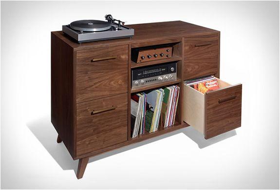 Open Close Series By Atocha Design Record Storage Vinyl Record Storage Record Cabinet