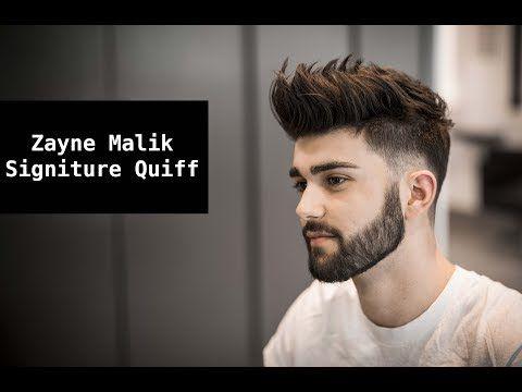 Zayn Malik Signature Hair Tutorial Mens Summer Hairstyle