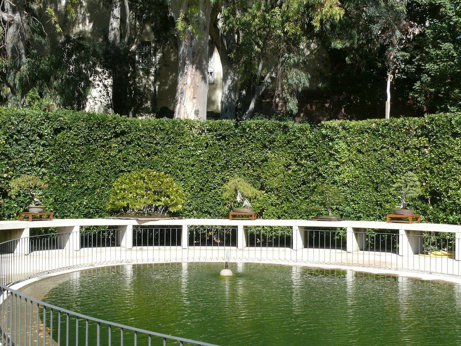 Terraza Alta O De Los Laureles Real Jardin Botanico De Madrid Real Jardin Botanico Arquitectura De Jardines Jardin Botanico