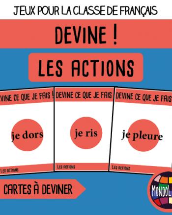 Jeu De 7 Familles Pour La Classe De Francais Fle Sur La Conjugaison Des Verbes Entendre Mettre Vendre Repondre Dire Regle De Jeu Fle Jeux De Vocabulaire