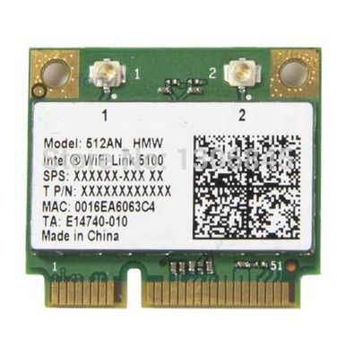 Wholesale New Intel WiFi Link 5100 512AN half Mini PCI-E