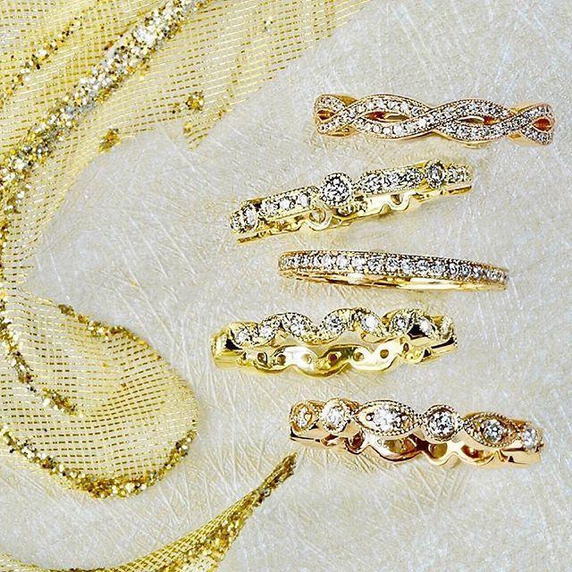 FIVE GOLDEN RINGS 💕#Repost @lesleyannjewels #pennypreville #fivegoldenrings  #Regram via @pennypreville