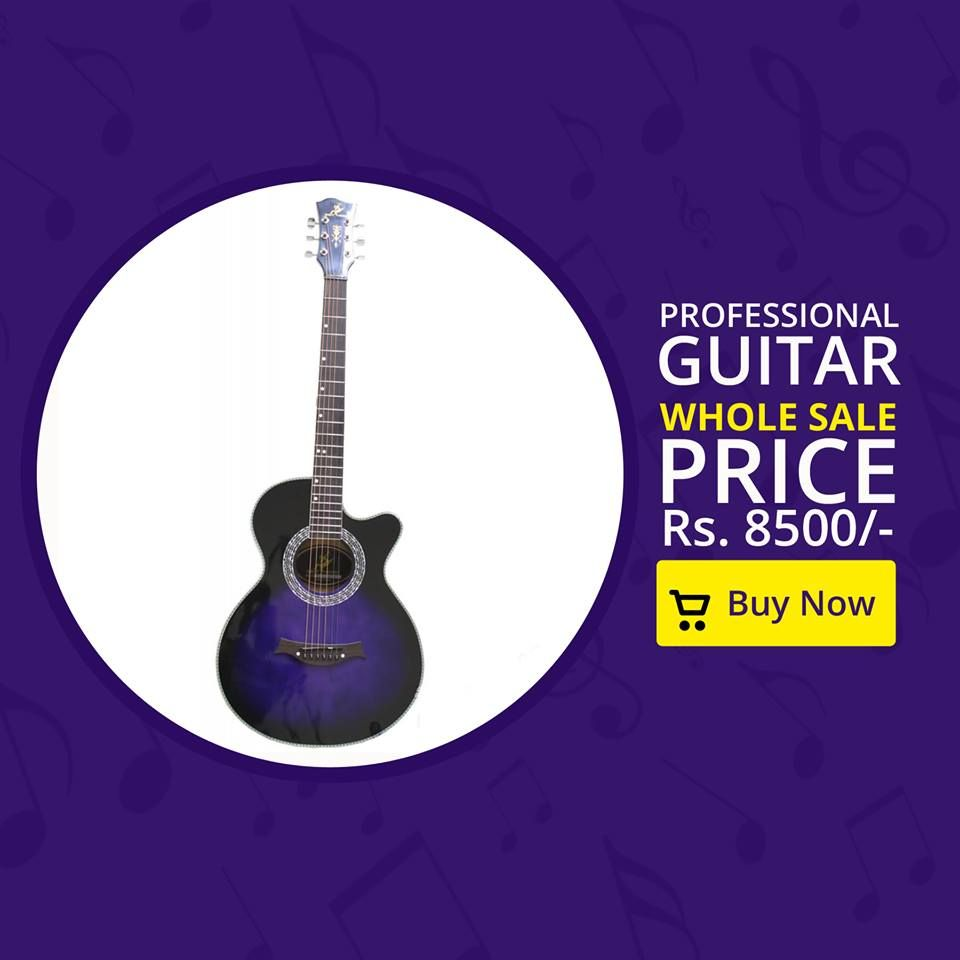 Swift Horse Branded Professional Guitar On Whole Sale Price Blue 981 982 5233 Pelorous Rs 8500 Guitar Bag Horse Brand Guitar