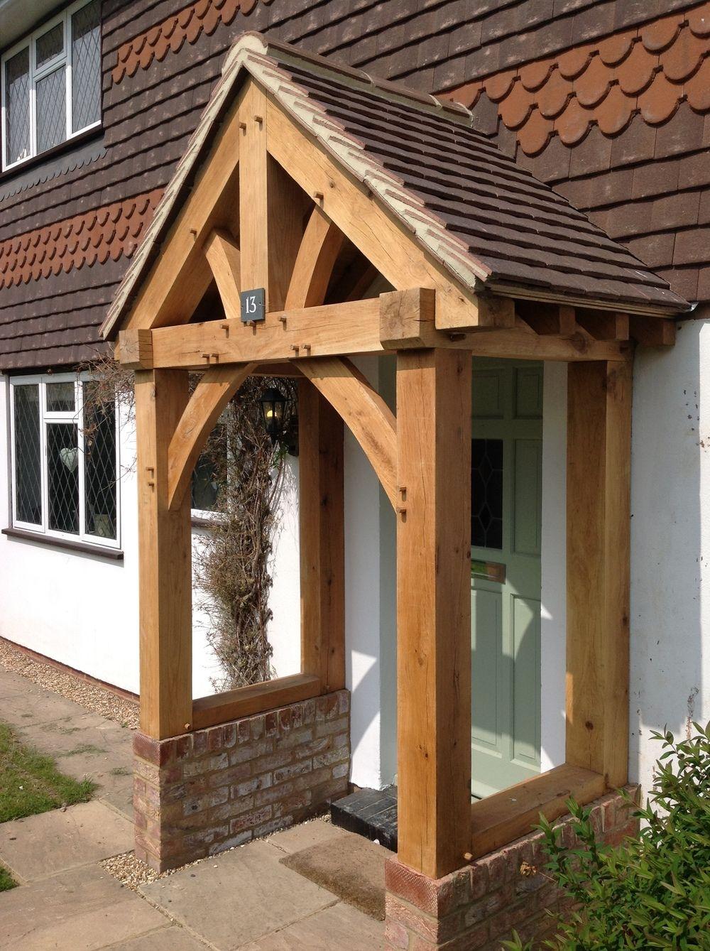 Design Of The Wooden Porch Timber Frame Porch Porch Design