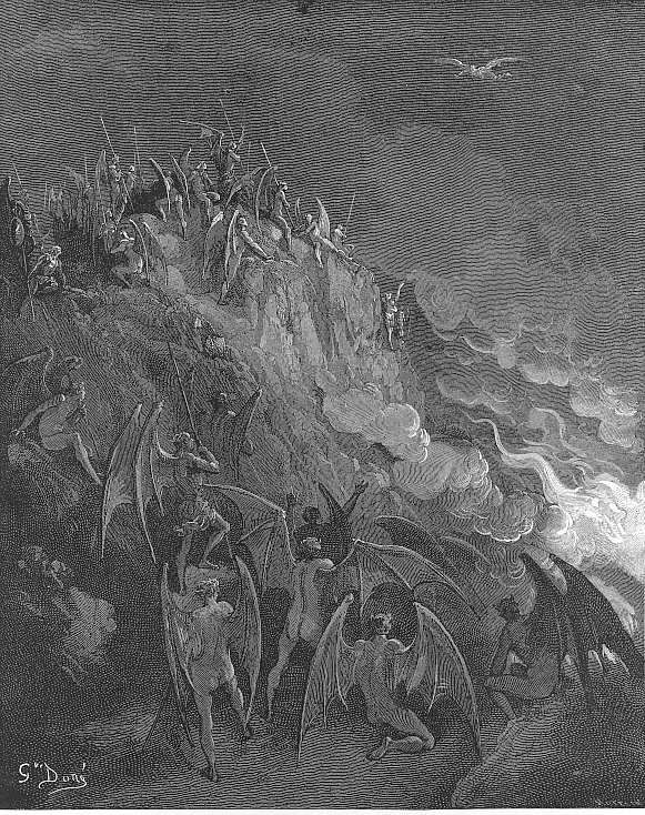 And now expecting Each hour their great adventurer, from the search Of foreign worlds - Gustave Dore (Paradise Lost)