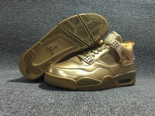 newest a5d74 f07f4 AJ4 Nike Air Jordan 4 Premium gold 626970 040 mens Trainers Sports Basketball  Shoes